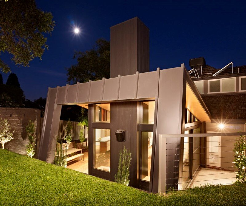 Suburban house extension with environmentally sustainable design (3)