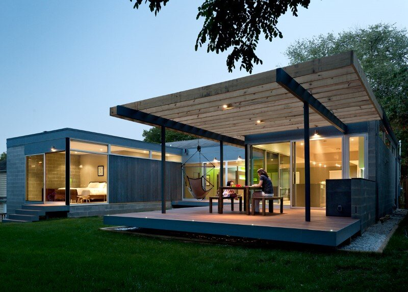 terrace, Kube Architecture