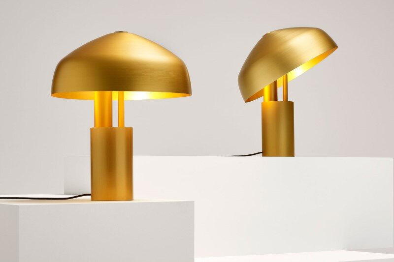 Aura Desk lamp by Ross Gardam