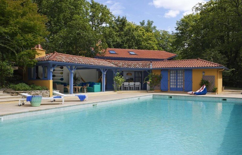 Biarritz House – refreshing blue and a beautiful relaxation area on the French Atlantic coast