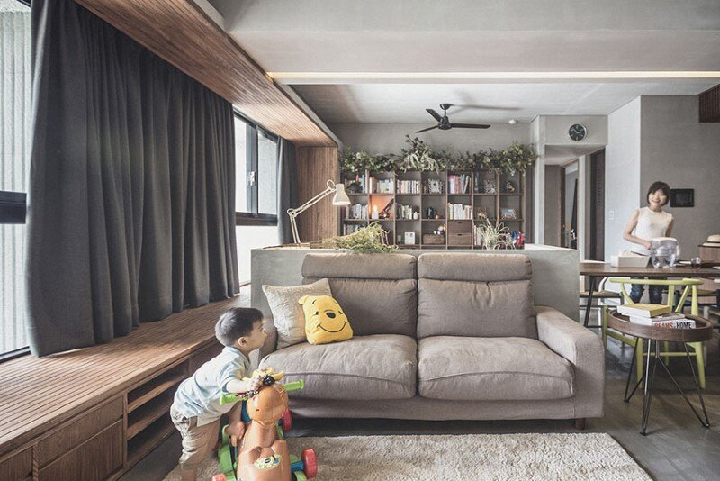 Hsinchu Apartment by 323 Interior Design Studio