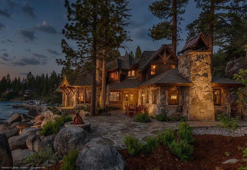 Lake Tahoe Hotels >> Lake Tahoe Estate - distinguished and iconic home