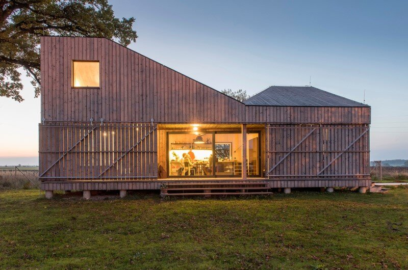 Low-energy wooden house Zilvar – ASGK Design