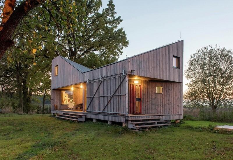 Low-energy wooden house Zilvar - ASGK Design (14)