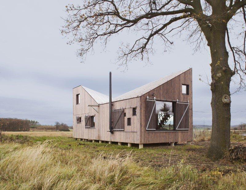 Low-energy wooden house Zilvar - ASGK Design (5)