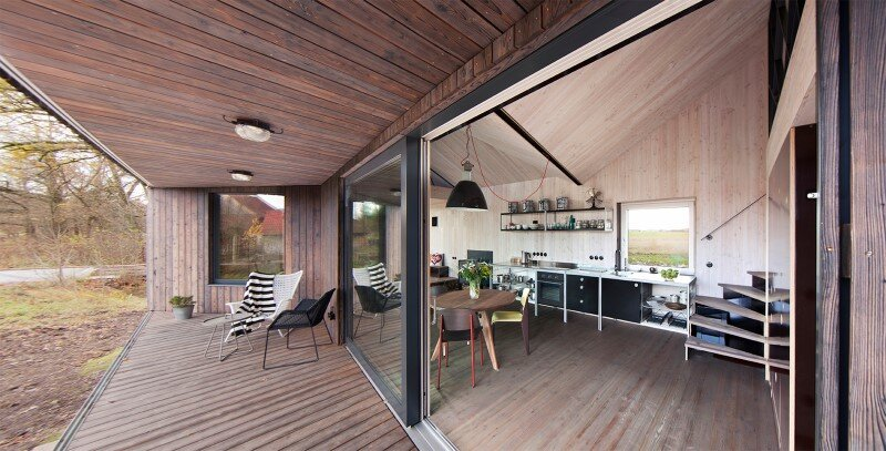 Low-energy wooden house Zilvar - ASGK Design (6)
