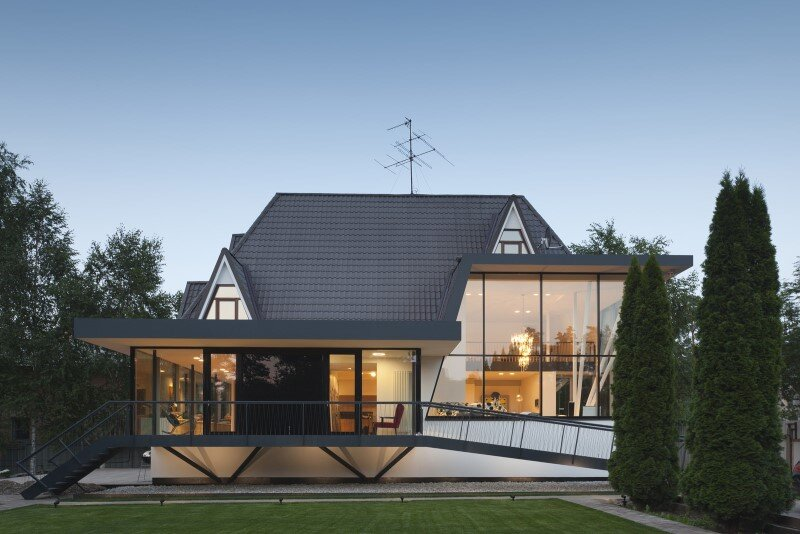 Modernization of a Family House: House N in Moscow