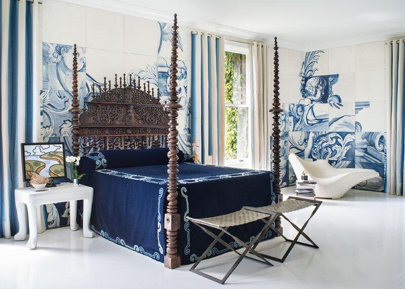 Pacific Heights Master Bedroom – a modern interpretation of 18th century matrimonial bedroom