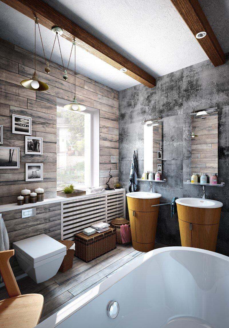 bathroom by Galina Lavrishcheva