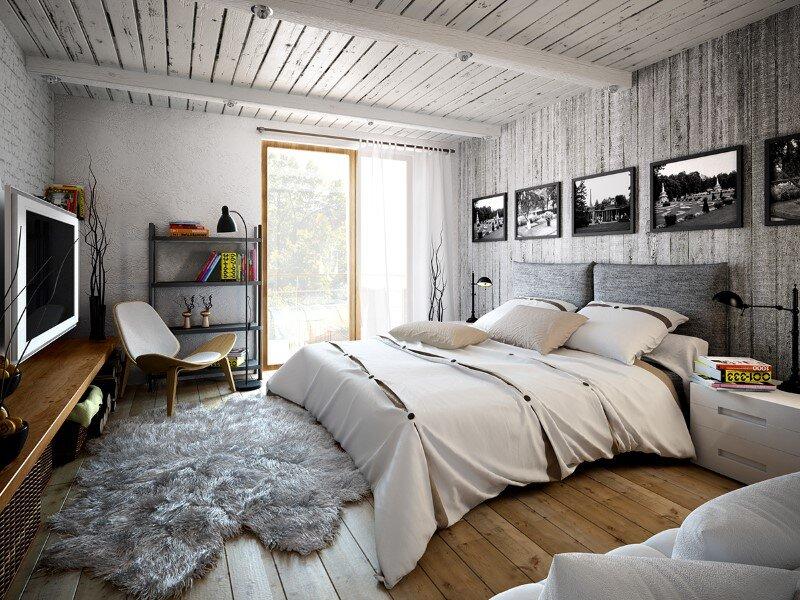 bedroom by Galina Lavrishcheva