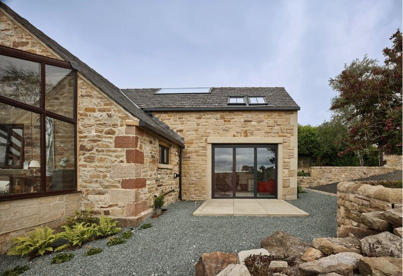 Stone Cottage Hocker Farm Extension And Modernization Of