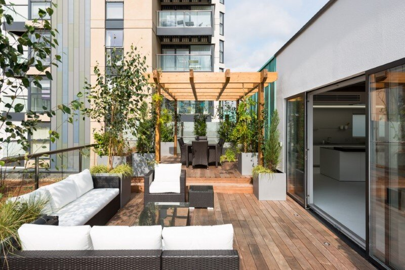 Two-bedroom London penthouse constructed on a Cross-Laminated Timber frame (10)