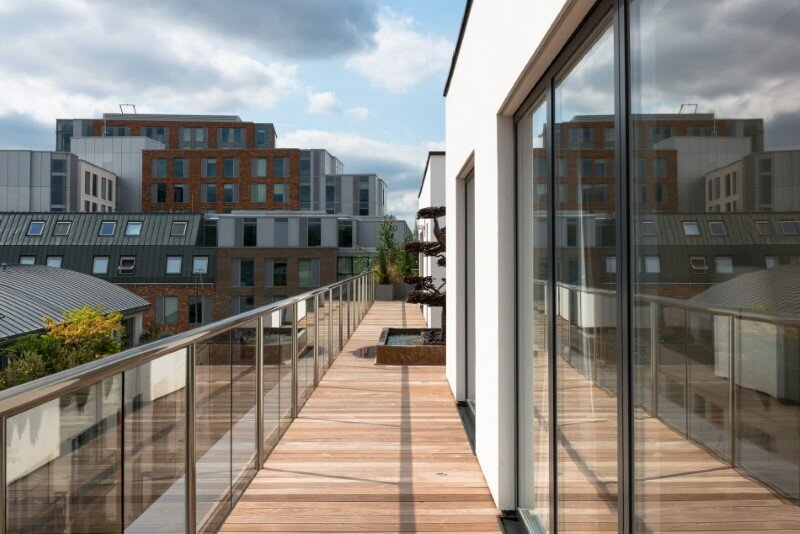 Two-bedroom London penthouse constructed on a Cross-Laminated Timber frame (14)