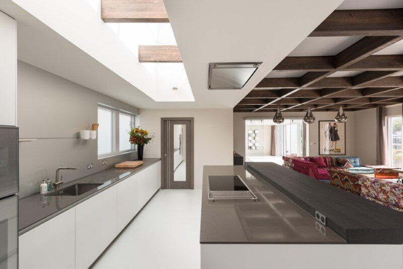 Two-bedroom London penthouse constructed on a Cross-Laminated Timber frame (6)