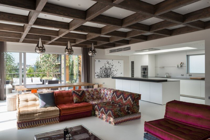 Two-bedroom London penthouse constructed on a Cross-Laminated Timber frame (8)