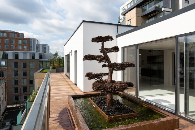 Two-bedroom London penthouse constructed on a Cross-Laminated Timber frame (9)
