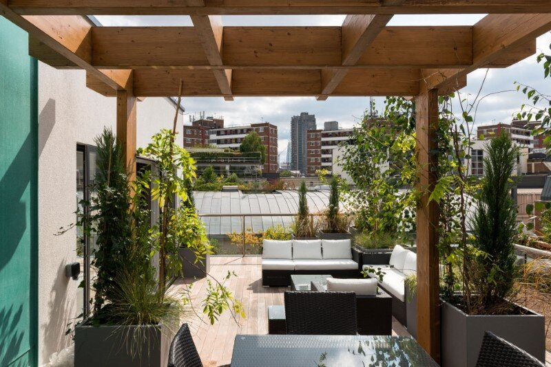 Two-bedroom penthouse constructed on a Cross-Laminated Timber frame (3)