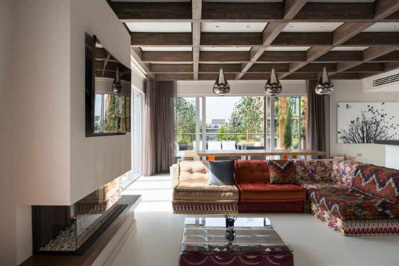 Two-bedroom penthouse constructed on a Cross-Laminated Timber frame (9)