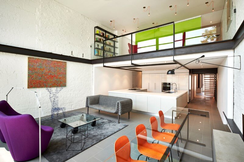 Salt and Pepper House Designed for an Owner who Loves to Cook