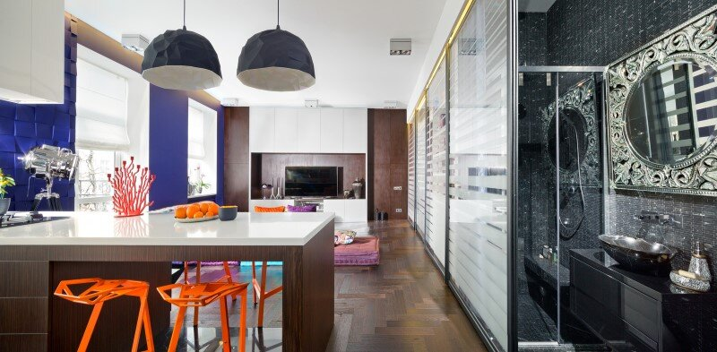 50 sqm Secret apartment in Kiev - Sergey Makhno Architects (8)