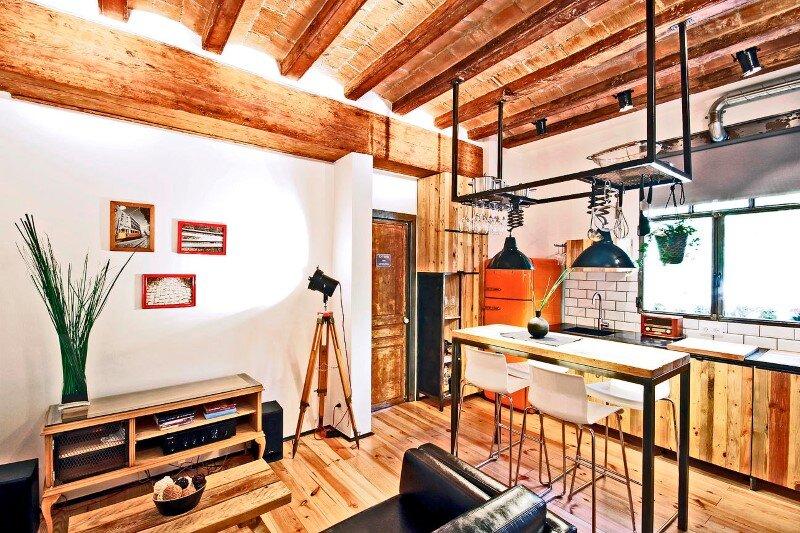 Apartment at Rambla de Raval by Transfodesign