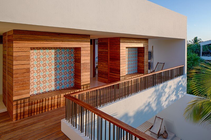 Beachfront private villa on a protected bay in Tulum, Mexico (20)