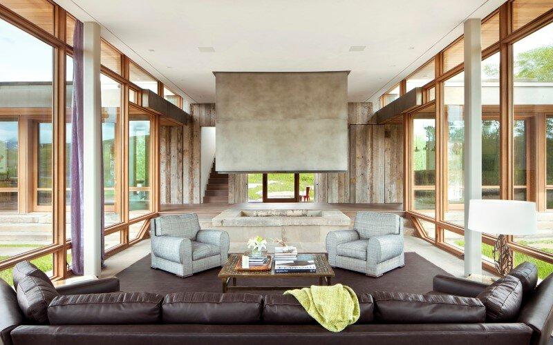 Big Timber Riverside House - Montana ranch by Hughesumbanhowar Architects (11)