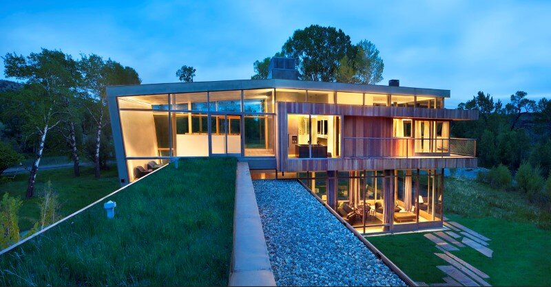 Big Timber Riverside House - Montana ranch by Hughesumbanhowar Architects (13)