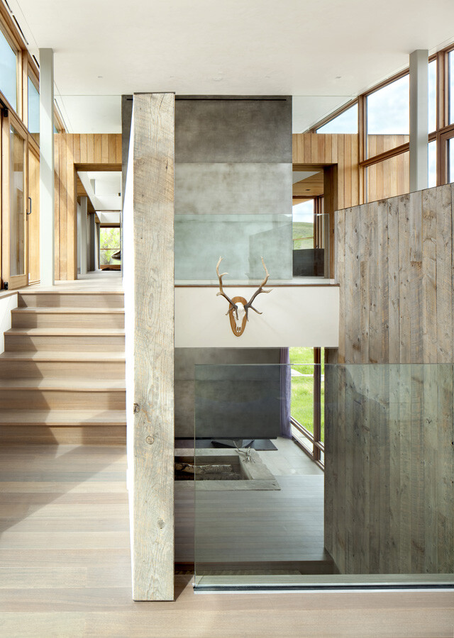 Big Timber Riverside House - Montana ranch by Hughesumbanhowar Architects 16