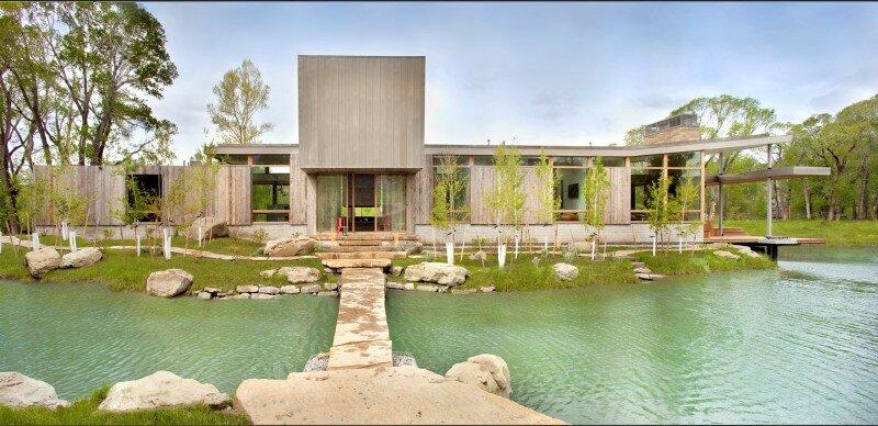 Big Timber Riverside House - Montana ranch by Hughesumbanhowar Architects (3)