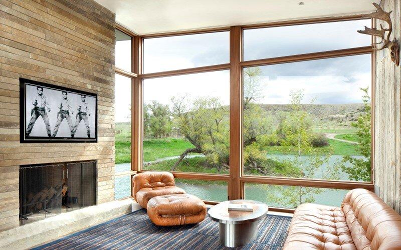 Big Timber Riverside House - Montana ranch by Hughesumbanhowar Architects (7)