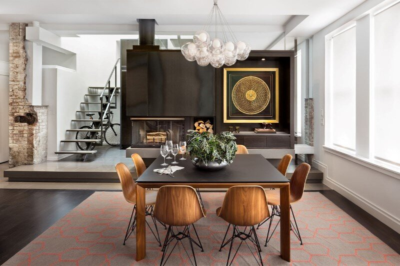 Duplex barrow street by deborah berke partners for New york interior design online