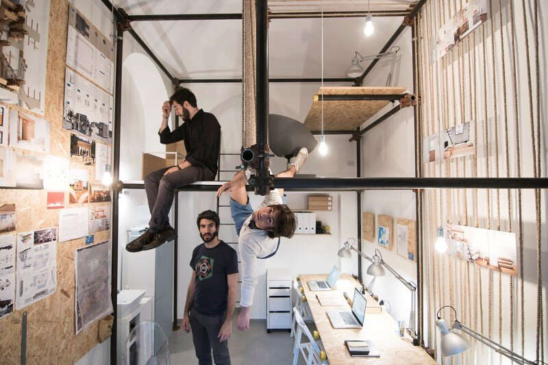 R3architetti Have Transformed a Small Atelier of 14 sqm in Their Own Creating Space