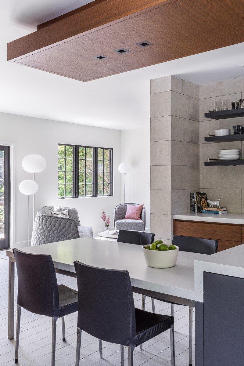 dining room, Hacin + Associates