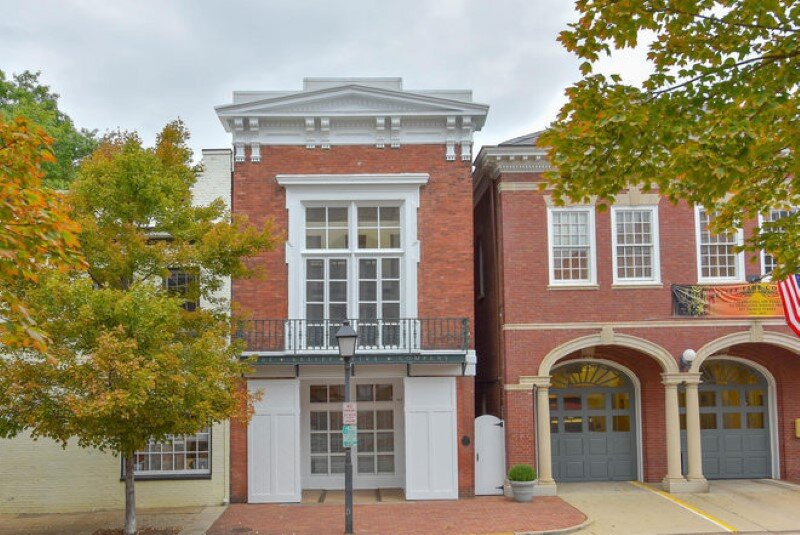 Renovated 1850s firehouse with preserving the original architectural elements (1)