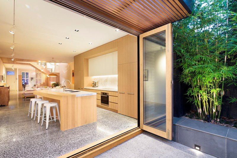 South Melbourne House Refurbishment of an Double Storey Terrace House (1)