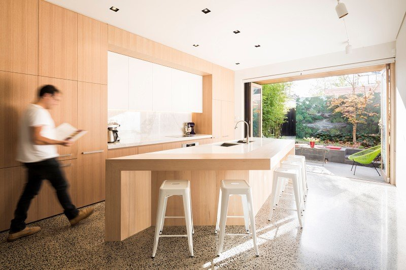 South Melbourne House: Refurbishment of an Double Storey Terrace House