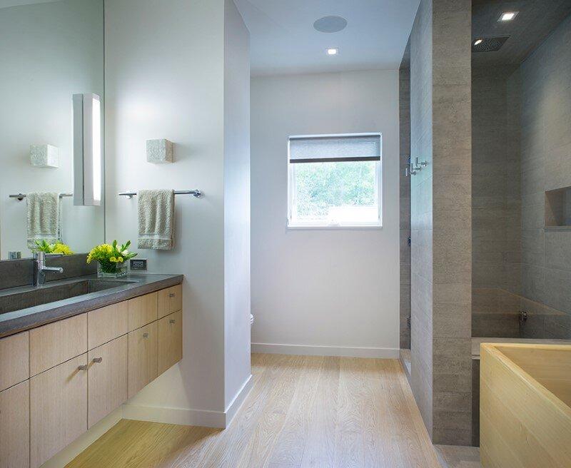 bathroom, Rowland+Broughton Architecture