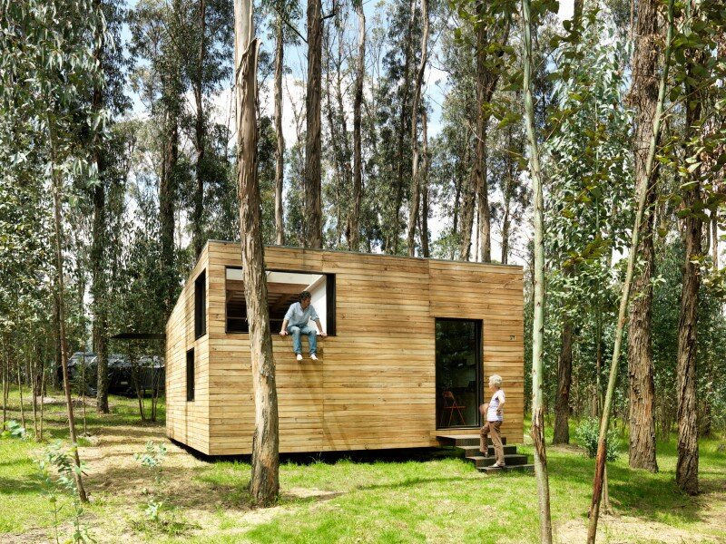 Sustainable housing prototype – House with low footprint and high energy efficiency