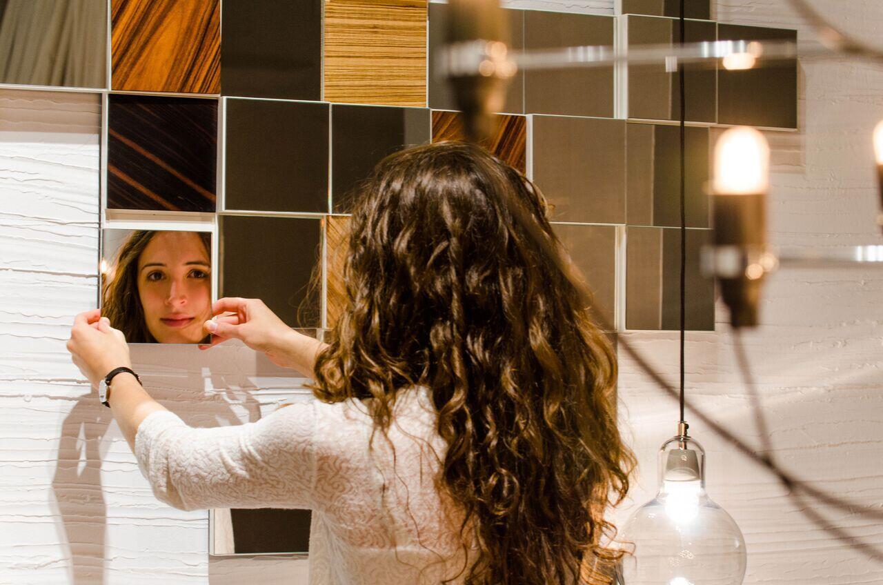 Collage Mirror- Fresh and Dynamic Mirror Mosaic by Amarist
