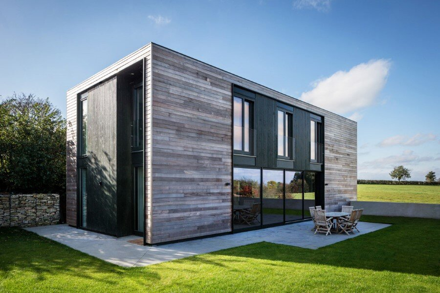 Flat Packed Panels Home In The Countryside Near Oxford England