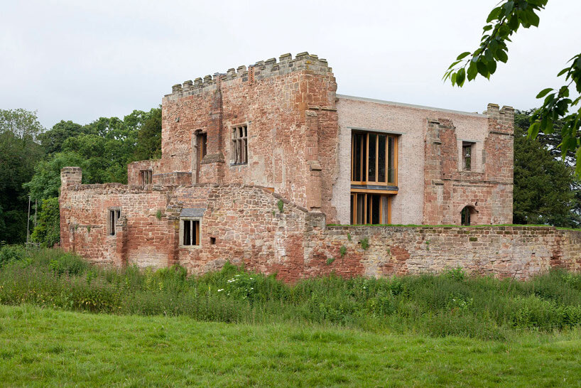 Astley Castle Renovation by Witherford Watson Mann Architects (1)