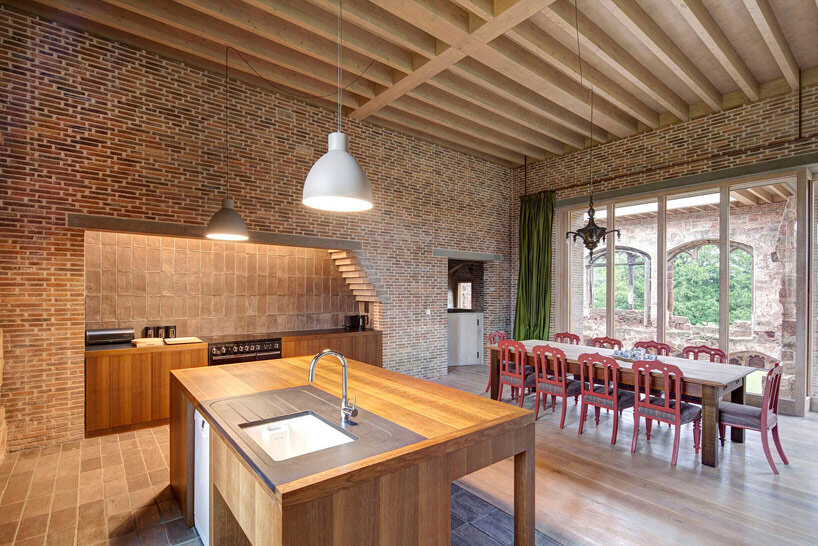 Astley Castle Renovation by Witherford Watson Mann Architects (3)