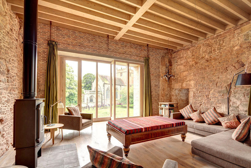 Astley Castle Renovation by Witherford Watson Mann Architects (4)