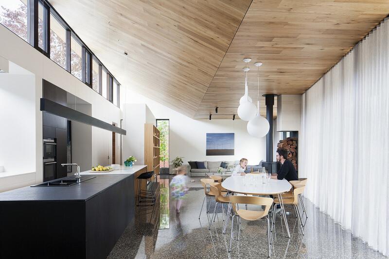 red barn at hazel river cabin bonstra haresign architects