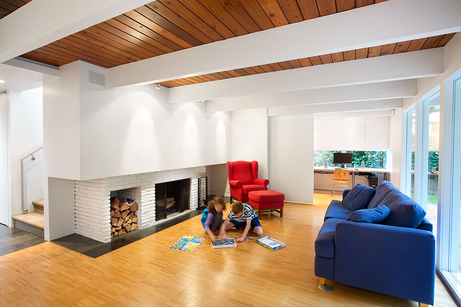 Glenview House – Renovation of a Mid 50′s House