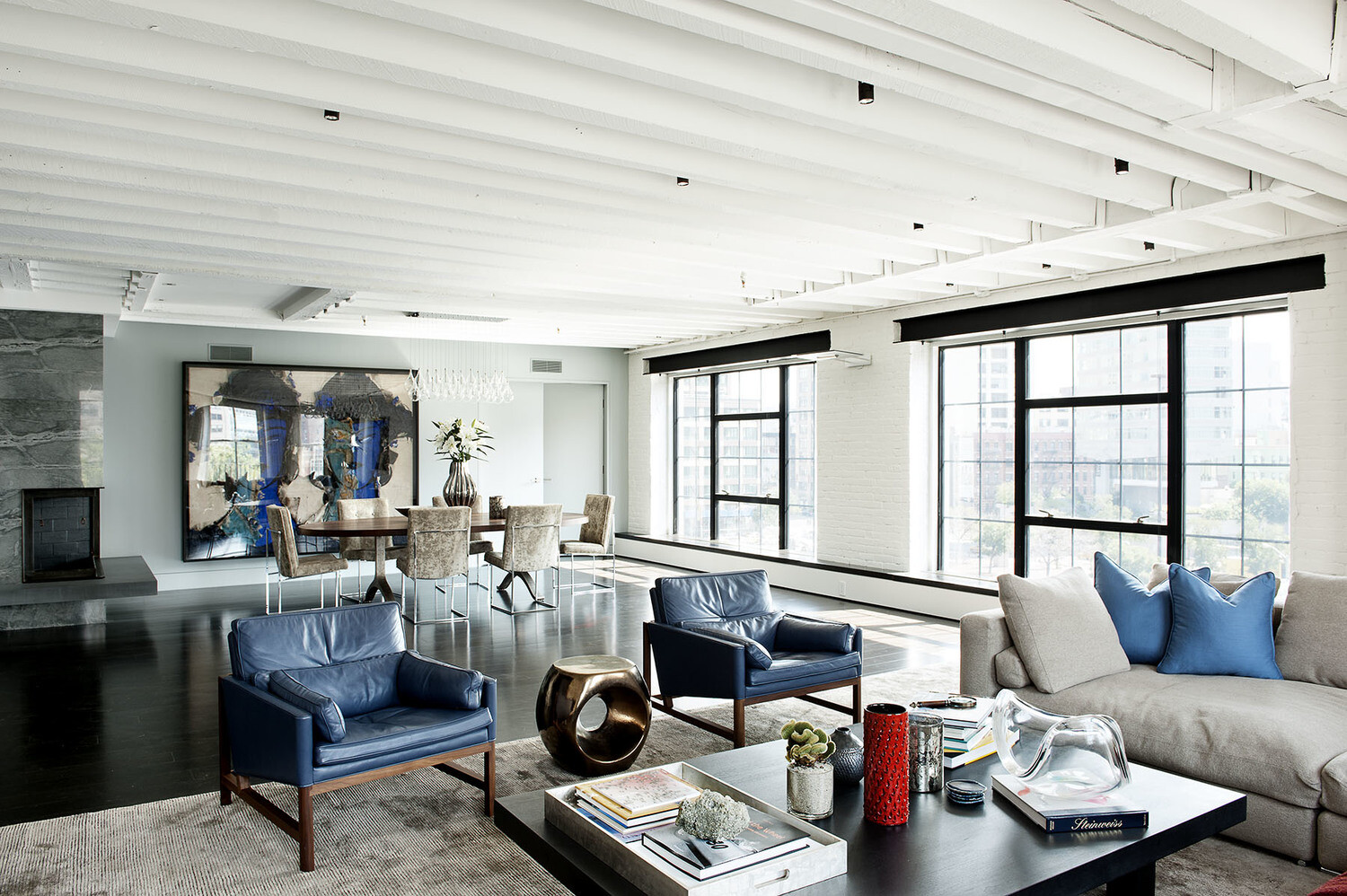 Stylish Laconic And Functional New York Loft Style: Laight Street Loft In New York By DHD Architecture
