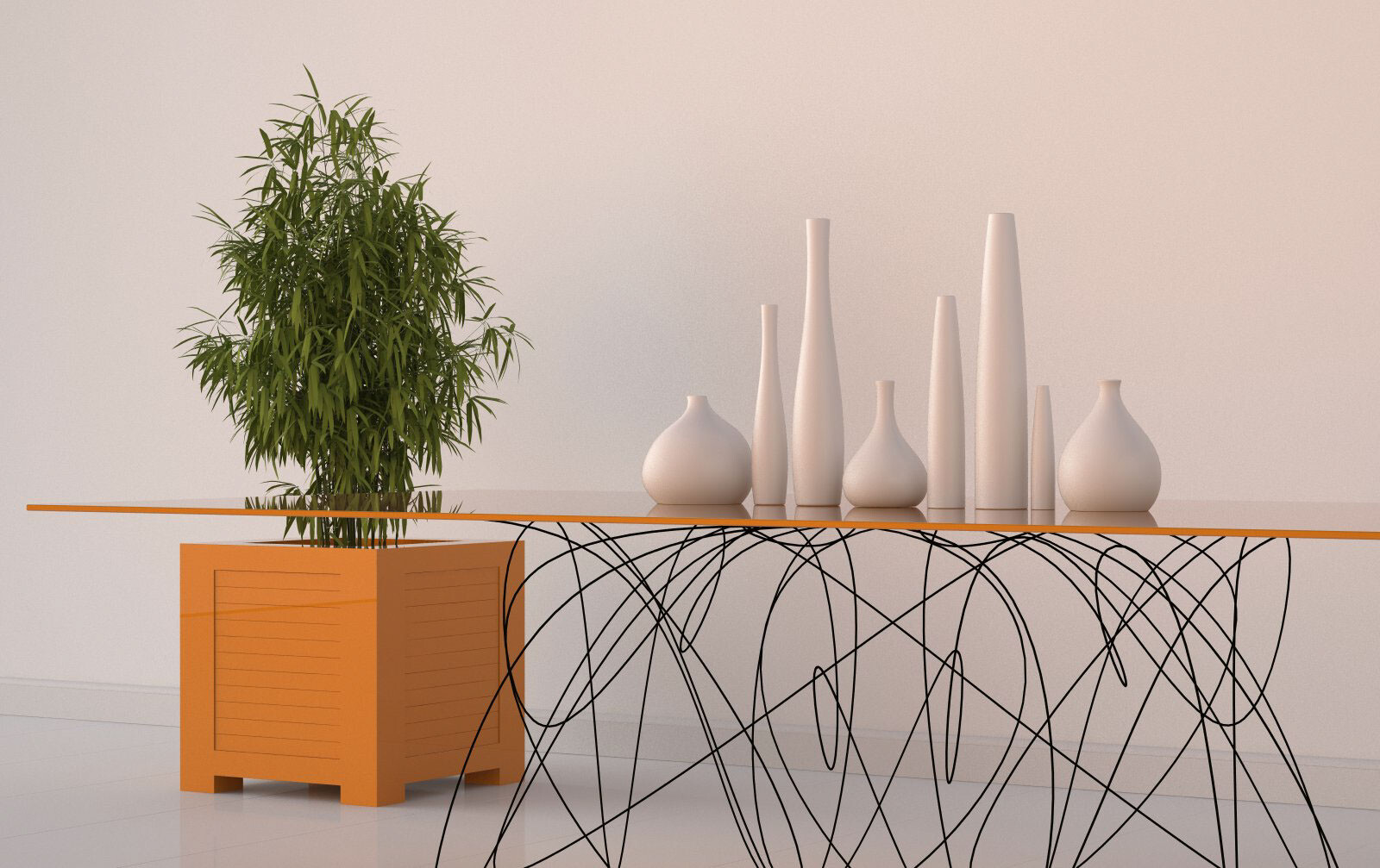 Quantum Table is Inspired by the Motion of Subatomic Particles