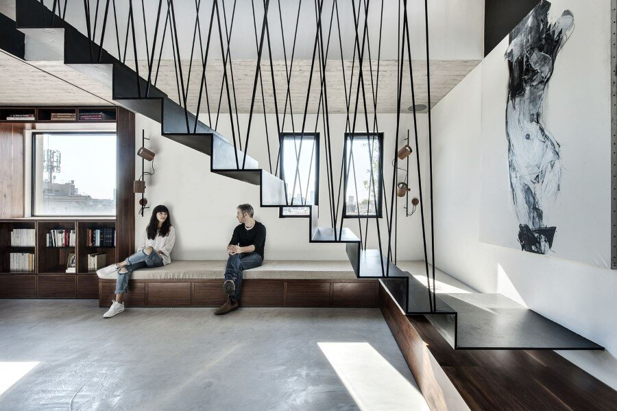 Duplex penthouse apartment with a big roof terrace for Innenraum designer programm