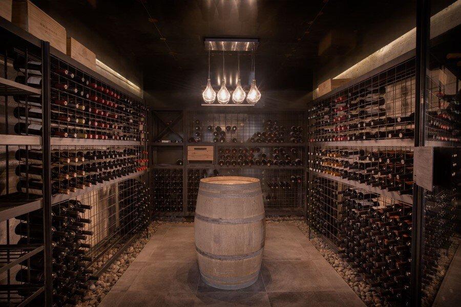 Evans House integrated into the Argentine vineyards landscape (8)